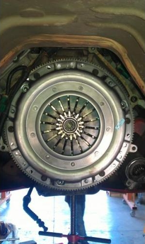 Ford Mustang Installed Clutch